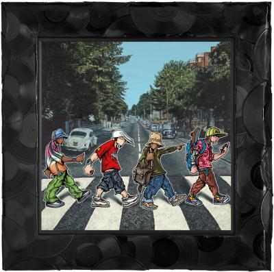 A B-boy Road (Canvas)