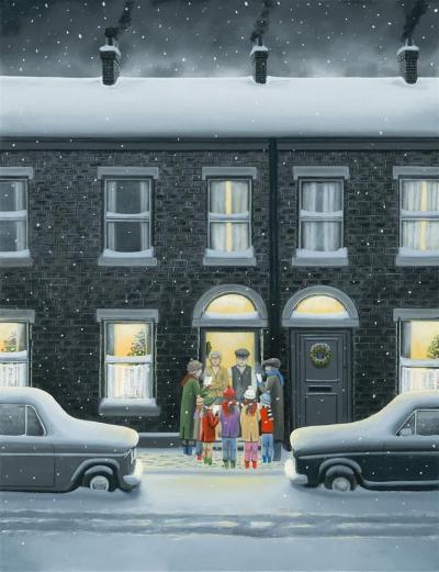 A Christmas Carol - Canvas