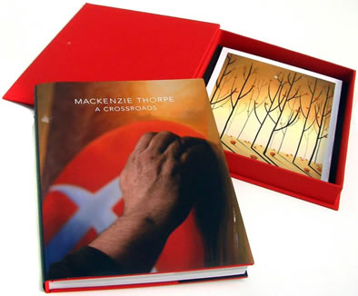 A Crossroads - Book & LE Print