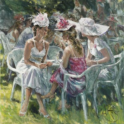 A Day At The Races by Gordon King