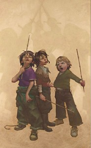 All For One - Box Canvas by Craig Davison