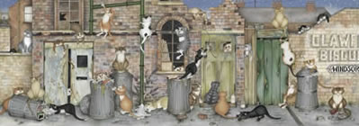 Alley cats by Linda Jane Smith