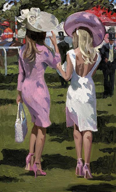 Ascot Chic II by Sherree Valentine Daines