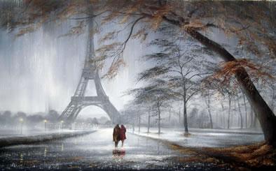 Autumn In Paris by Jeff Rowland