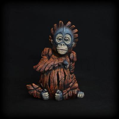 Baby Orangutan by Edge Sculptures by Matt Buckley