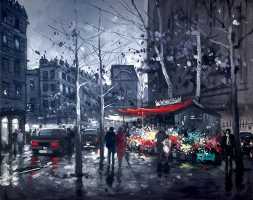 Boulevard Saint Germain by Henderson Cisz