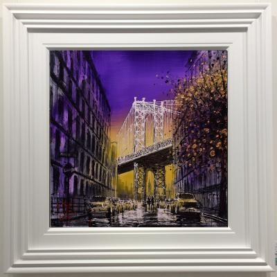Brooklyn Bridge by Nigel Cooke