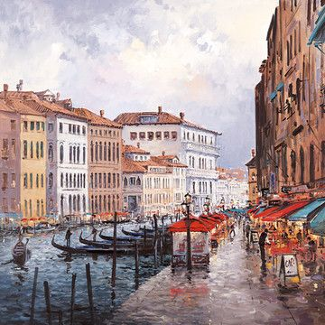Cafe On The Grand Canal