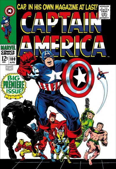Captain America #100 - Big Premiere Issue