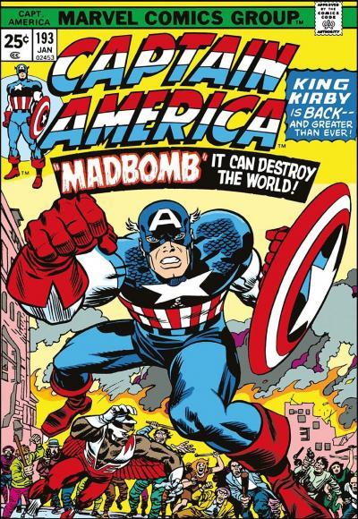 Captain America #193 Madbomb