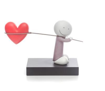 Caught Up In Love- Sculpture