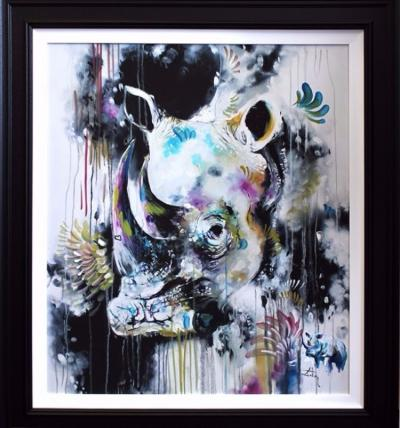 Charge - Hand Embellished Canvas