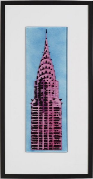 Chrysler - Pink & Blue