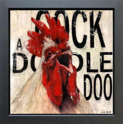 Cock - a doo by Linda Charles