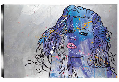 Daydream (Blue) by Louise Dear