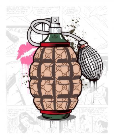 Designer Grenade- Gucci