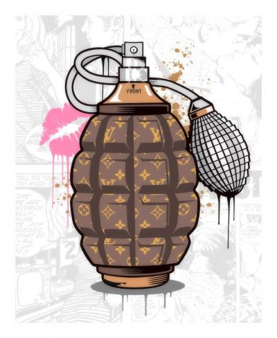 Designer Grenade- Louis Vuitton