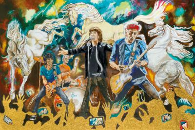 Electric Horses by Ronnie Wood