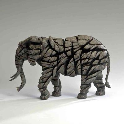Elephant - Mocha by Edge Sculptures by Matt Buckley
