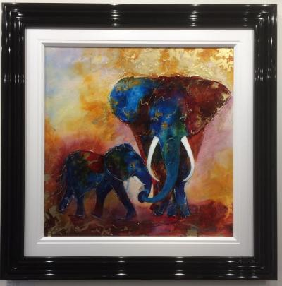 Elephants On Parade by Roz Bell