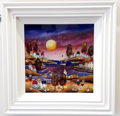 Evening Beach II by Roz Bell
