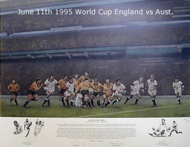 Fight To The Finish - England vs Australia 1995 by Stephen Doig