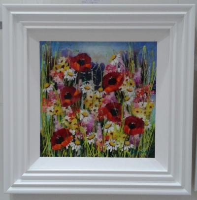 Floral Burst I by Roz Bell
