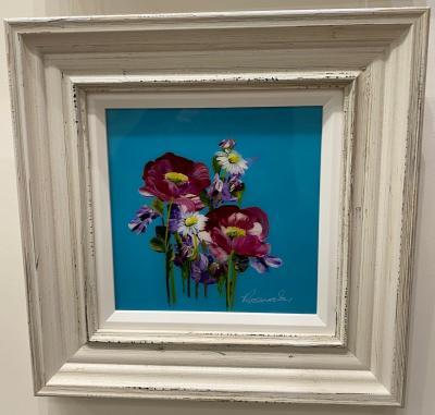 Floral IV (10 x 10)