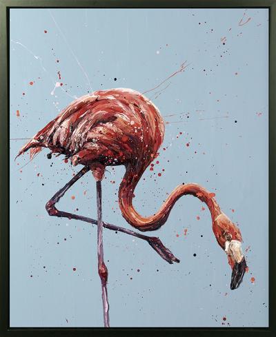 Floyd- Hand Embellished Canvas by Paul Oz