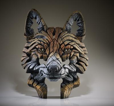 Fox Bust by Edge Sculptures by Matt Buckley