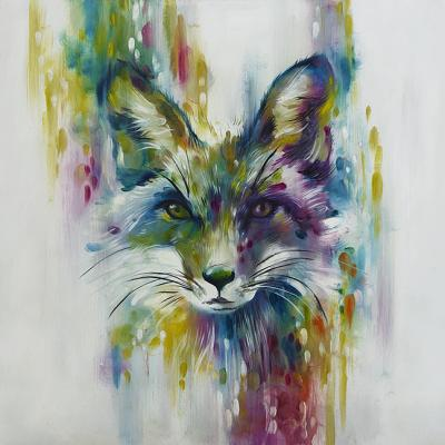 Fox - Chase (Small) by Katy Jade Dobson