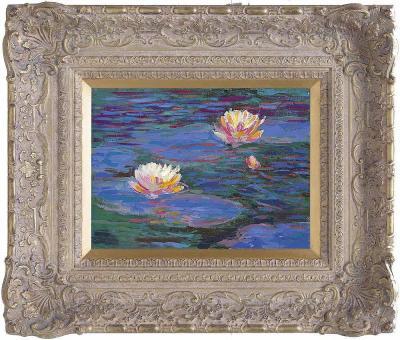 Giverny Reflections I by John Myatt