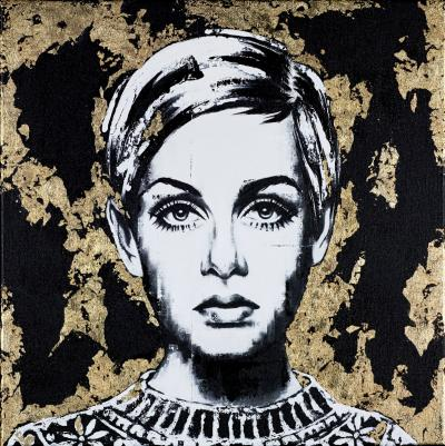 Golden Girl Twiggy by Sarah Holmes