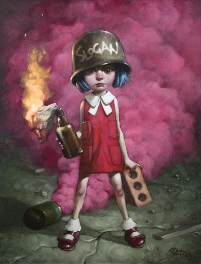 Guess Who Lost The Go....In- Deluxe Canvas by Craig Davison