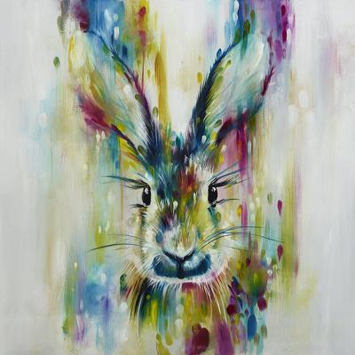 Hare- Escape (Small) by Katy Jade Dobson