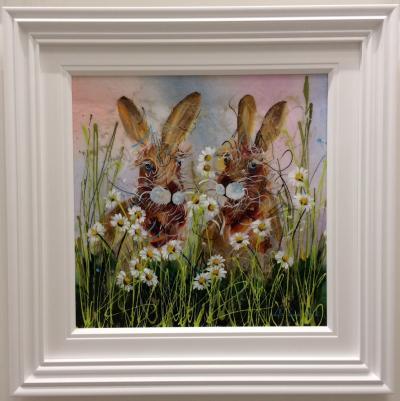 Hares II (24 x 24)