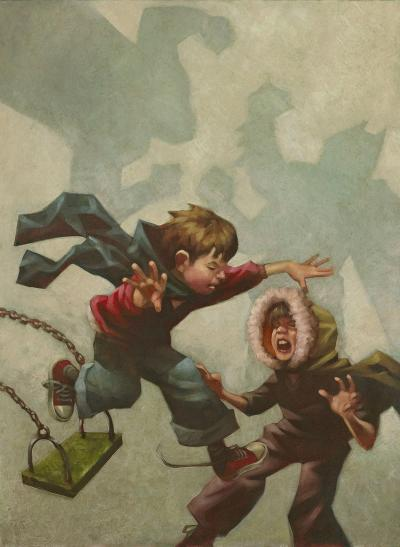 Heavyweight Clash by Craig Davison