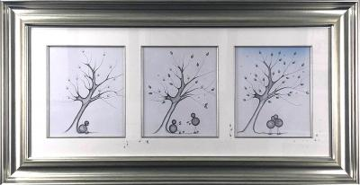 Here for you .... Always Triptych Sketch
