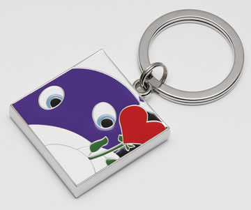 Hold Me Close - Keyring by Peter Smith