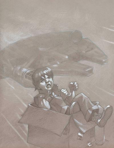 Hyperspace - Sketch by Craig Davison