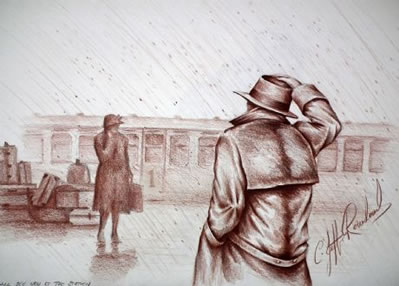 I Will See You At The Station by Jeff Rowland