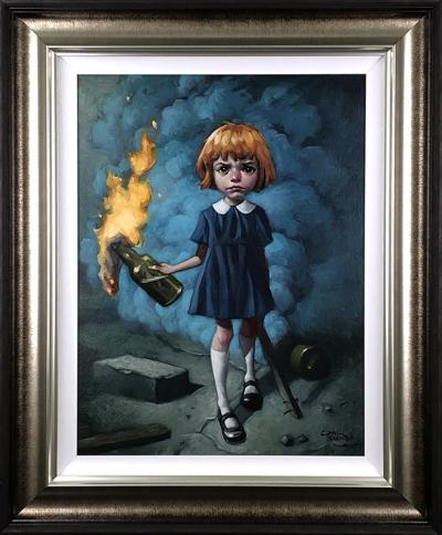 I'm Never Going To Dance A Different Song- Deluxe Canvas by Craig Davison