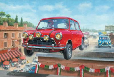 Italian Job 6 - Going For Gold (Canvas board) by Tony Smith