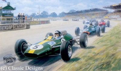 Jim Clark - World Champion 1963 & 1965