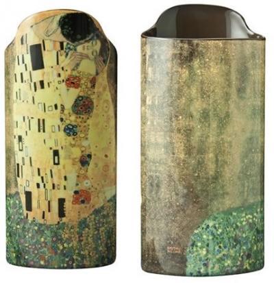 Klimt Kiss - Vase