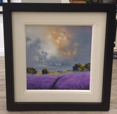 Landscape Purple 20 x 20