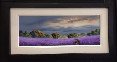 Landscape Purple (40x15)