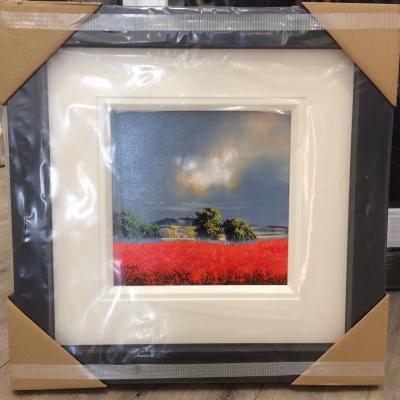 Landscape Red (12x12)
