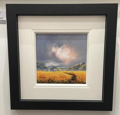 Landscape Yellow (12 x 12)
