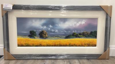 Landscape III (Yellow) by Allan Morgan